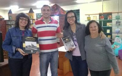 Doações de livros para bibliotecas Hans e Milliet